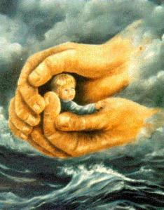 jesushandschild
